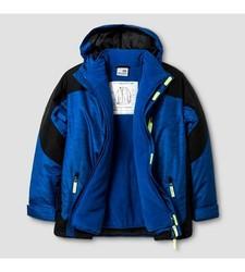 Champion Boys' C9 System Jacket Printed - Blue - Size: Medium