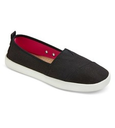Mad Love Women's Lonnie Slip on Shoes - Black - Size: 8