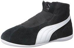 Puma Women's Eskiva Mid-Top Sneakers - Black - Size: 9M