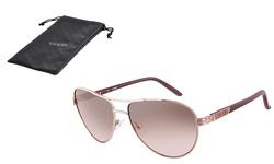 Guess 100% UV Protection Women's Lens Sonnenbrille Gu7208 Rogld