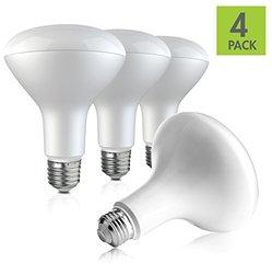 5000K 9W Bulbs 75 Watt Equivalent LED Light Bulb - 4 Pk - (BR30)