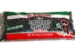 El Mexicano Dry Black Beans 1 Lb - Frijoles Negros