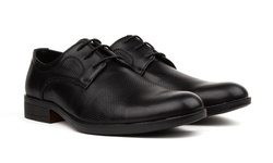 Royal Men's Lace-up Dress Shoes - Black - Size: 12