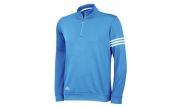 Adidas Men's 3-Stripe French Terry Knit Pullover - Oasis - Size: Large
