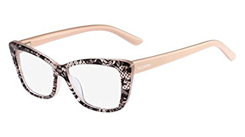 Valentino Eyewear: V2663 - 291 Nude Lace Frame - Check Back Soon - BLINQ