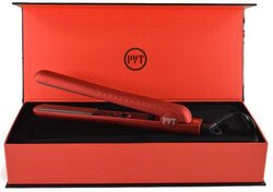 PYT Ceramic 1.25 Hair Straightener-Red