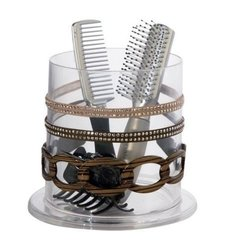 US Acrylic Stackable Hair Accessories Organizer