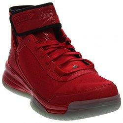Adidas Men's Dual Threat BB Basketball Scarlet/Black/White 10.5 D(M) US