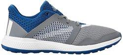 adidas Performance Men's Energy Bounce 2.0 Running Shoe,Grey/White/Equipment Blue,12.5 M US