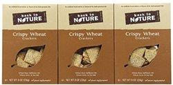 Back to Nature Crispy Wheat Crackers - 8 oz