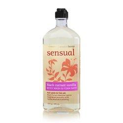 Aromatherapy Sensual Black Currant Vanilla Body Wash Foam 10 oz
