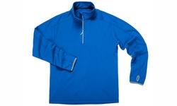 Zorrel Men's Verona 1/4 Zip Fleece Pullover - Royal Blue- Size: 2XL