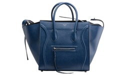 Celine Designer Cabas Ladies Handbags Phantom - Blue