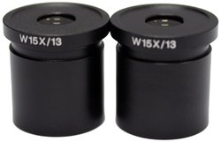National Optical Eyepiece Microscopes - Pack of 2 (WF15x)