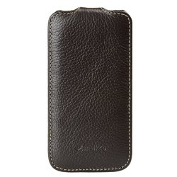 Melkco Leather Case for Samsung Galaxy S4 Mini - Brown (SSGN91LCJT1BNLC)