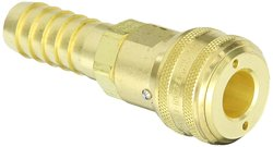 Hansen Eaton Brass ISO-B Interchange Pin Lock Pneumatic Fitting (5900SL)