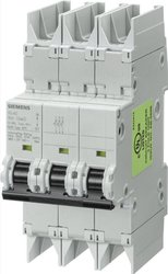 Miniature Circuit Breaker 3 Pole Breaker 35 APM Maximum (5SJ43357HG42)