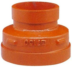 "Ductile Iron Concentric Reducers - Galvanized - Size: 3"" x 2.5"""