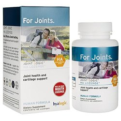 Hyalogic HA Chewable Lozenge for Joint & Cartilage Health - 60 Chewable