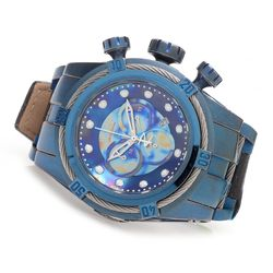 Invicta Men's Reserve 52mm Bolt Zeus Empire Chronograph Strap Watch - Blue