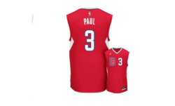 Adidas Men's NBA Los Angeles Clippers Chris Paul Jersey - Red - Size: XL