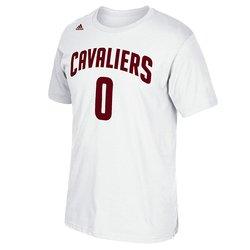 Adidas Men's NBA Cleveland Cavaliers Tee - White - Size: Medium