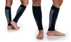 Copper Fit Women's Copper Infused Calf High Socks - 2 Pair - Black - L/XL