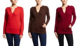 Front Kangaroo Pocket Sweater: Coffee (M)