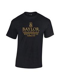 SDI Men's NCAA Baylor Bears Classic Seal T-Shirt - Black - Size: Large