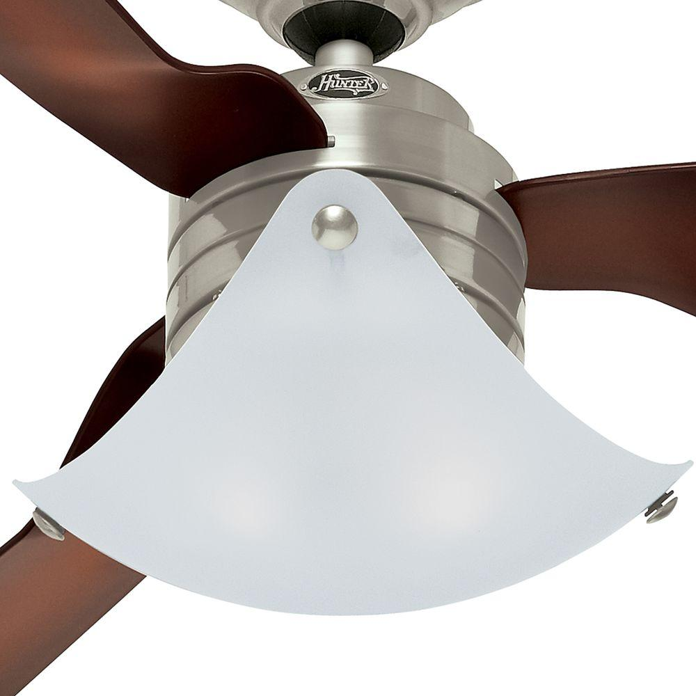 Hunter 59012 windspan 52 inch indoor ceiling fan brushed nickel hunter 59012 windspan 52 inch indoor ceiling fan brushed nickel aloadofball Image collections