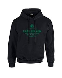 NCAA Alabama Birmingham Blazers Classic Seal Long Sleeve Hoodie, X-Large, Black