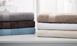Wexley Home Cotton Towel Set - Brown Stone