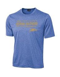 NCAA Georgia Southern Eagles University Tech Performance T-Shirt -Royal -M