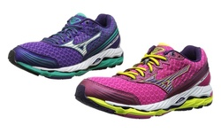 Paradox 2 Running Shoe: Purple-silver/7.0
