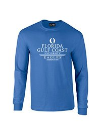 NCAA Florida Gulf Coast Eagles Classic Seal Long Sleeve T-Shirt, X-Large, Royal