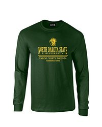 NCAA North Dakota State Classic Seal Long Sleeve T-Shirt - Forest - XXL