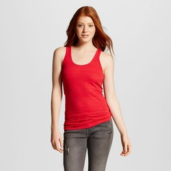 Mossimo Women's Junior Long & Lean Tank Top - Apple Red - Size: XL