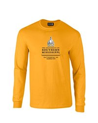 NCAA Southern Mississippi Golden Eagles Classic Seal Long Sleeve T-Shirt, X-Large, Gold
