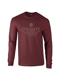 NCAA Colgate Raiders Classic Seal Long Sleeve T-Shirt, Large, Maroon