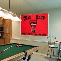 NCAA Texas Tech Red Raiders Man Cave Flag - 3 x 5-Feet