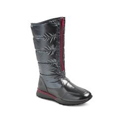 Buffy Girls' Buffy Tall Pack Winter Boots - Silver - Size: 3