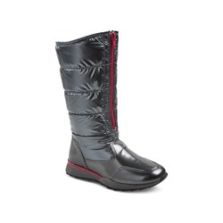 Buffy Girl's Buffy Tall Pack Winter Boots - Silver - Size: 5
