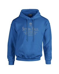 NCAA Seton Hall Pirates Classic Seal Long Sleeve Hoodie, Large, Royal