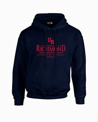 NCAA Richmond Spiders Classic Seal Long Sleeve Hoodie, Medium, Navy