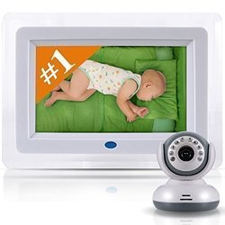 """7"""" LCD Baby Monitor with WiFi Signal and Digital Camera (SXPXAGSGHAVGD)"""