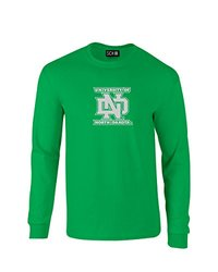 SDI NCAA North Dakota Men's Long Sleeve T-Shirt - Ir Grn - Size:XL
