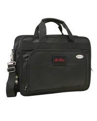 "Rebels 13"" Denco Sports Expandable Briefcase with Laptop Pocket - Black"