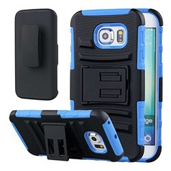 EMPIRE - Blue - Impact - XT Samsung Galaxy S6 Edge Belt Clip Case