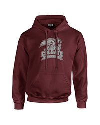 SDI NCAA Colgate Raiders Mascot Foil Men's Hoodie - Marn - Size: M