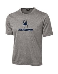 NCAA Richmond Spiders School Standard Mascot Tech Performance T-Shirt, XX-Large, Sport Grey